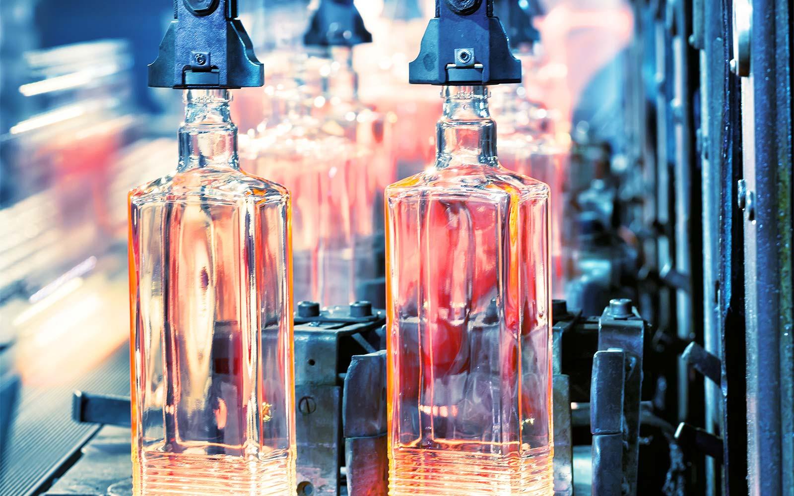 Расходомеры сжатого воздуха при производстве стеклотары