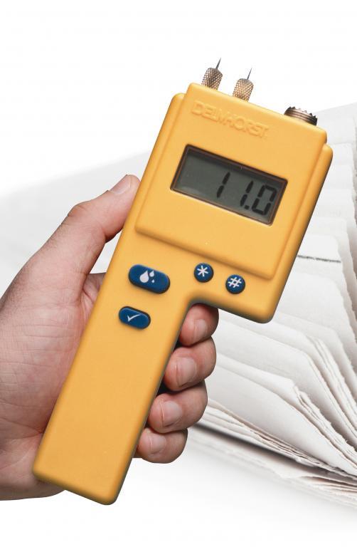 Измеритель влажности бумаги