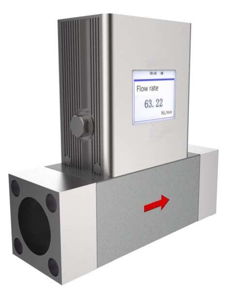 Борей 200 - Расходомер сжатого азота