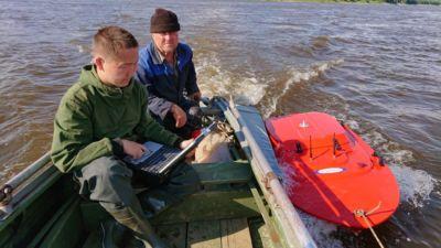 Измерения River Ray на Лене
