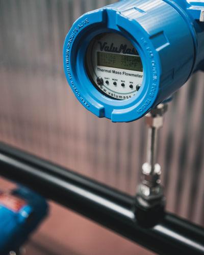 Термальный расходомер EPI-540 в процессе