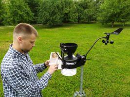 Метеостанция Vantage Pro 2 для науки