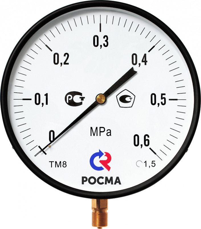 Манометр Росма ТМ-810Р (для котлов)