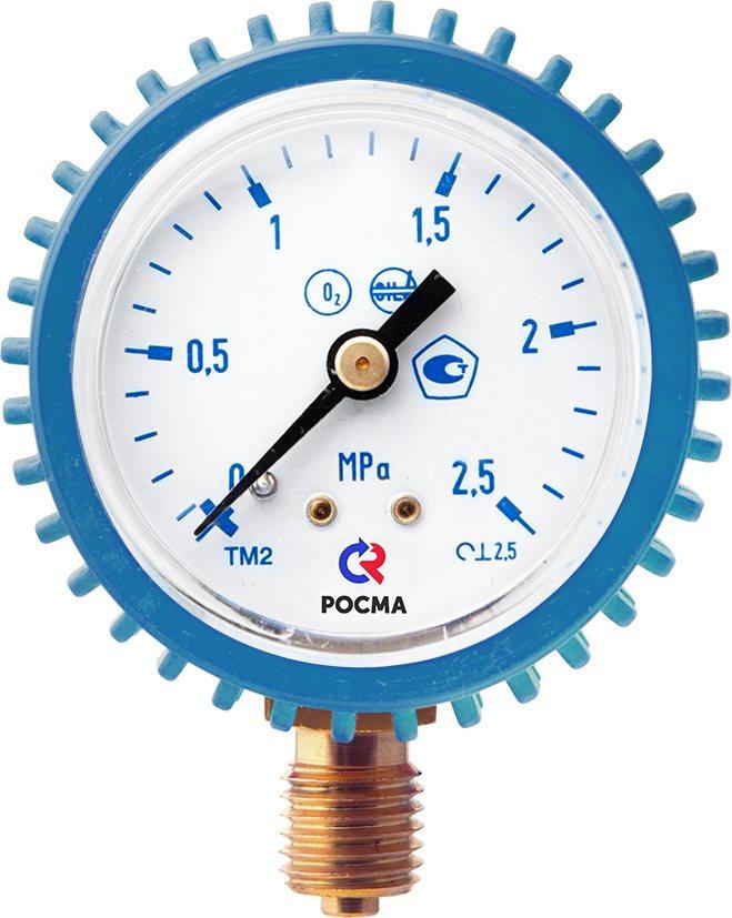 Манометр Росма сварочный ТМ-210Р (кислород)